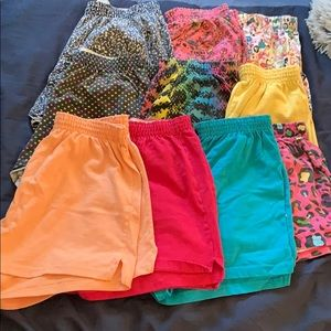 Lot of 10 gently used Soffe shorts
